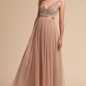 BHLDN Avery Dress Blush 10
